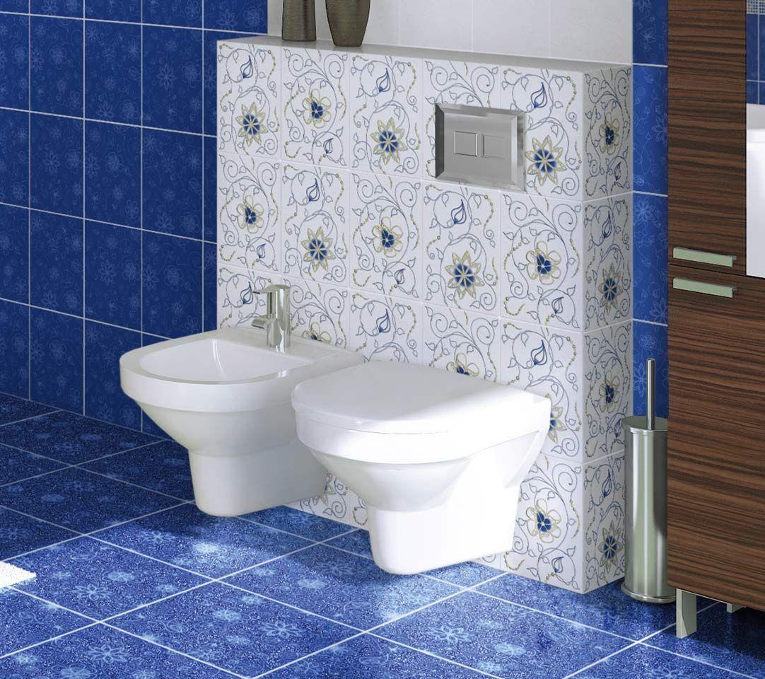 плитка для ванной гжель