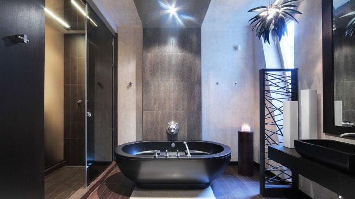 стильные интерьеры ванных комнат