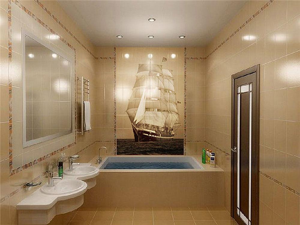дизайны ванной комнаты плитка фото