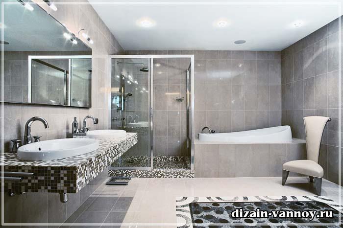 22 Stylish Grey Bathroom Designs Decorating Ideas: Фотографии ванной комнаты после ремонта