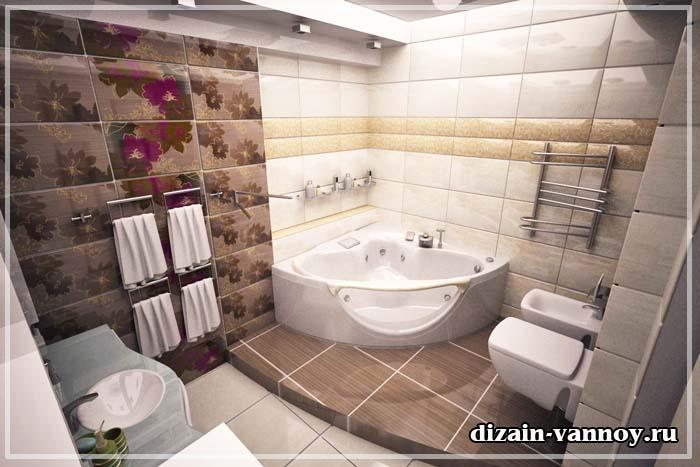 примеры ремонта ванной комнаты