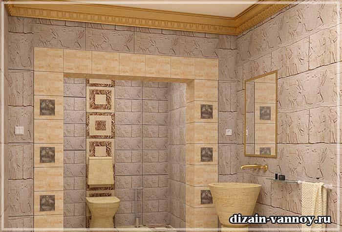 ванная в античном стиле