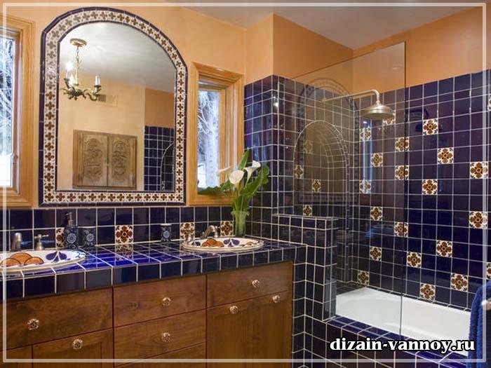 ванная в индийском стиле