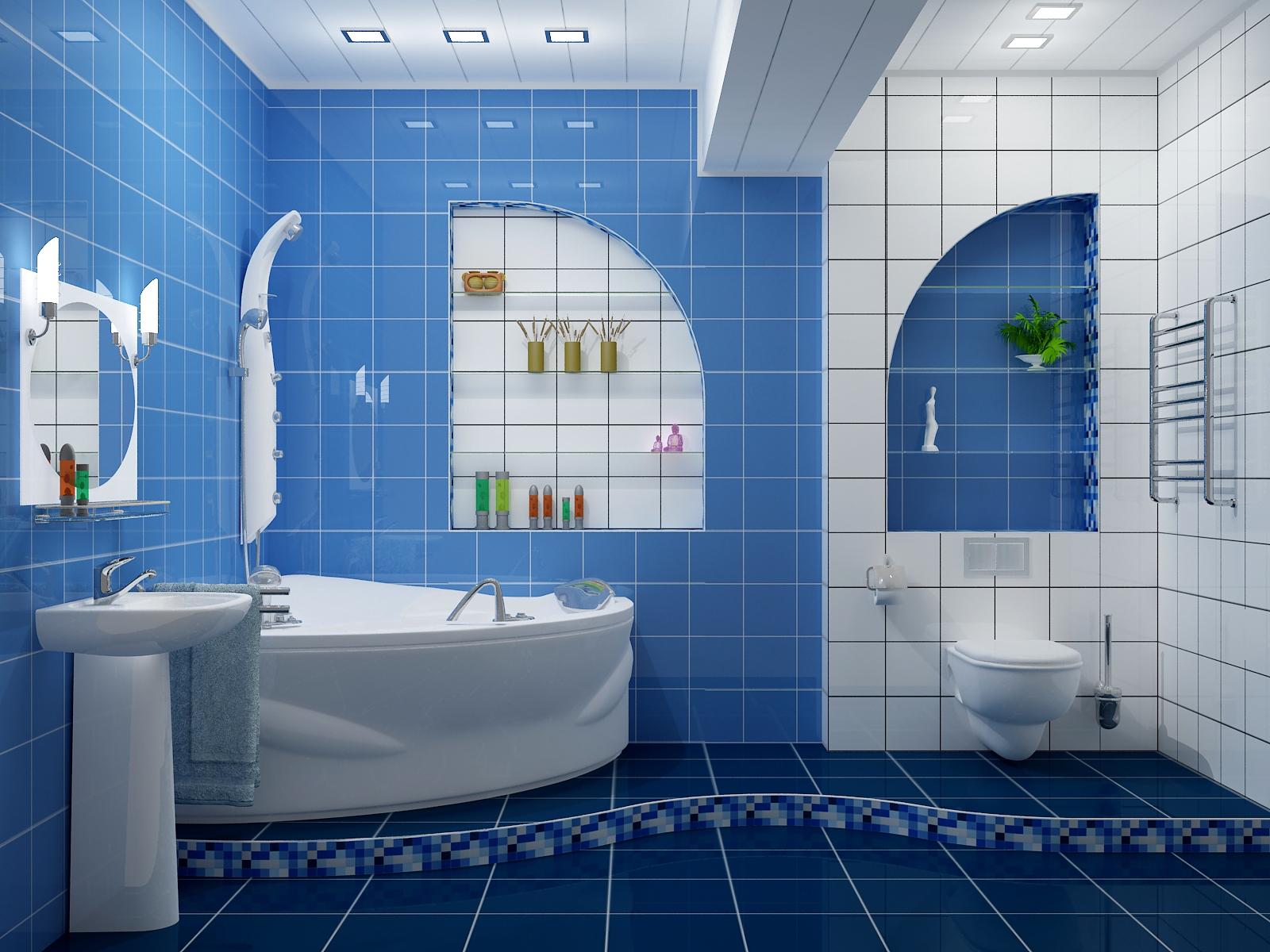 кафель на гипсокартон в ванной
