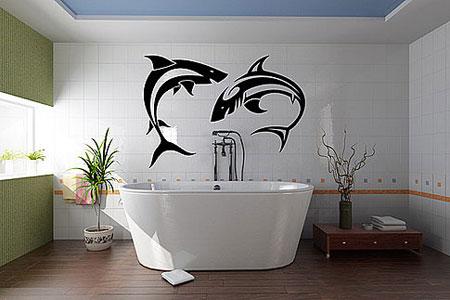 покрасить плитку в ванной