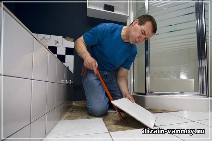 как объединить ванную с туалетом