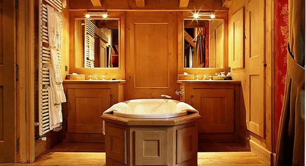 Отделка ванной комнаты деревом, фото в интерьере и дизайн