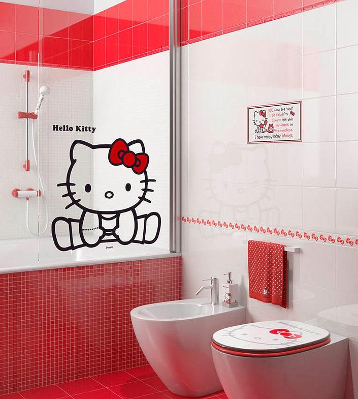 детская плитка для ванной комнаты