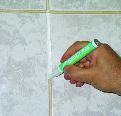 покраска плитки в ванной комнате