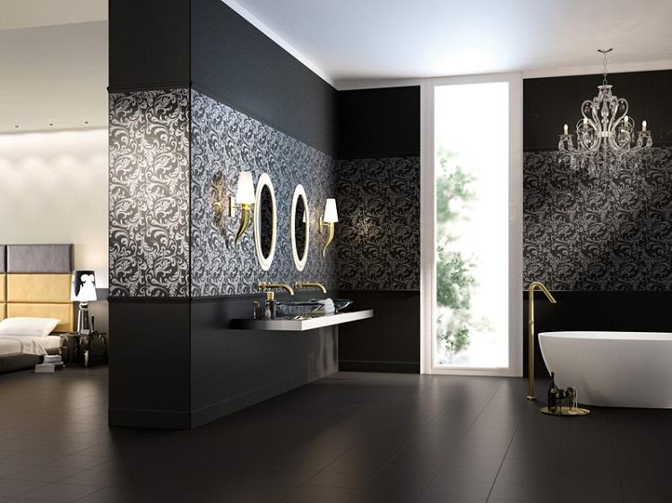 стильная плитка для ванной комнаты