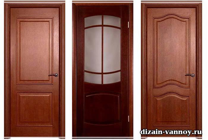 двери в ванную из экошпона