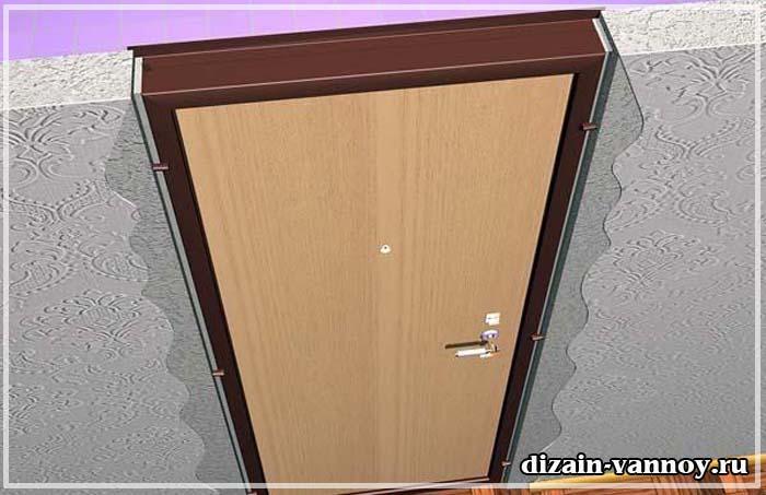 Видео как установить дверь в ванную комнату видео