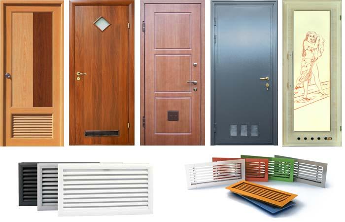 двери в ванную фото