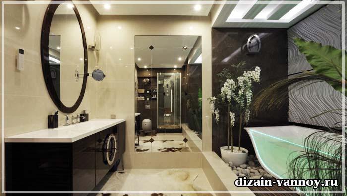 стеклянная плитка для ванной