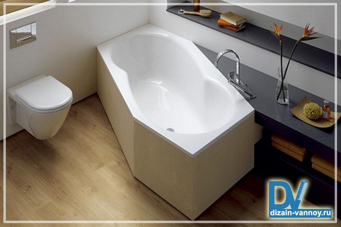 дизайнерский ремонт ванной комнаты фото