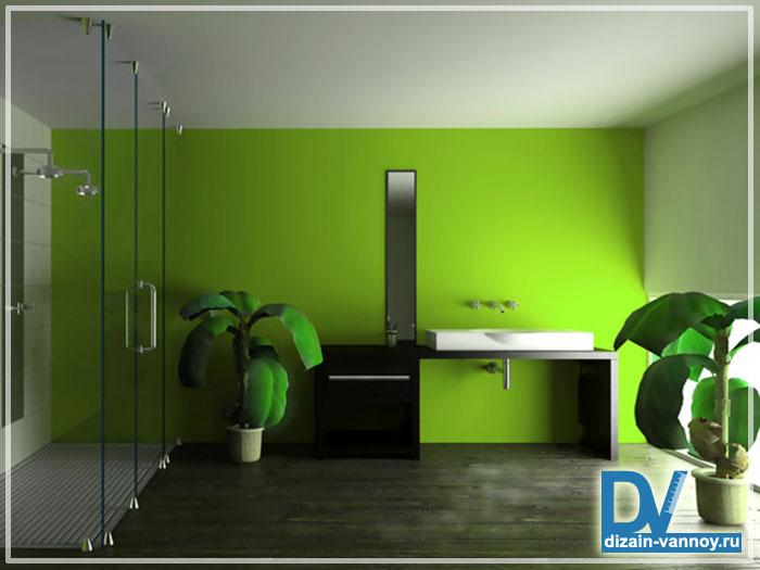 краска для потолка ванной комнаты