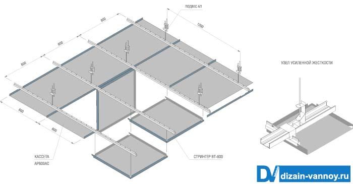 плитка потолочная для ванной