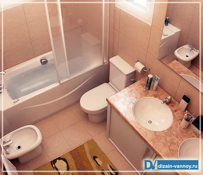 обычная ванная комната дизайн фото