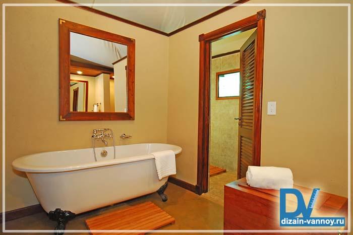 стеклообои для ванной комнаты
