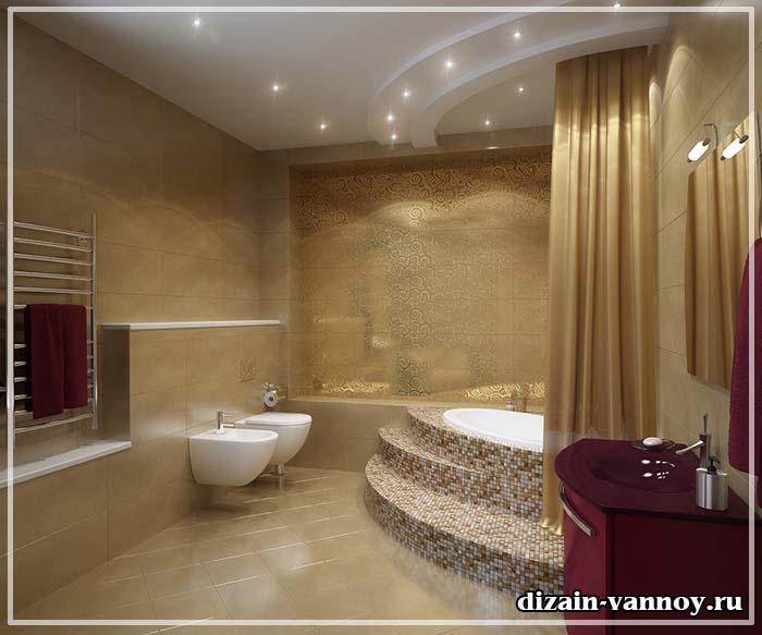 красивые ванные