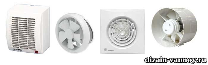 установка вентилятора в ванной