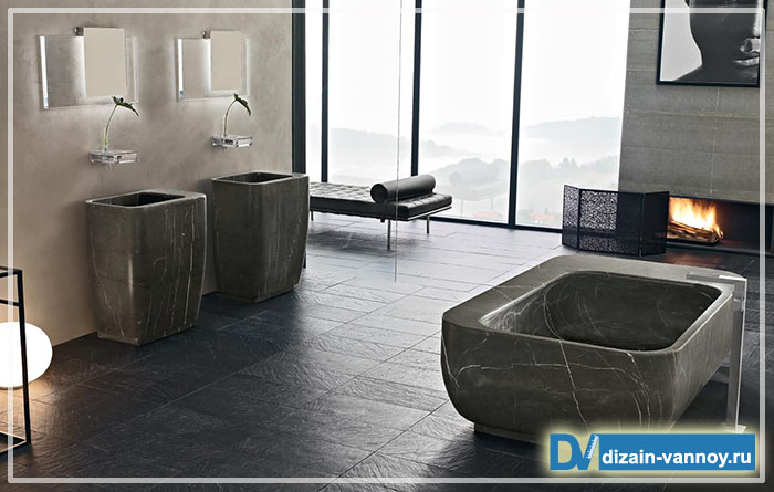 дизайнерская мебель для ванной комнаты