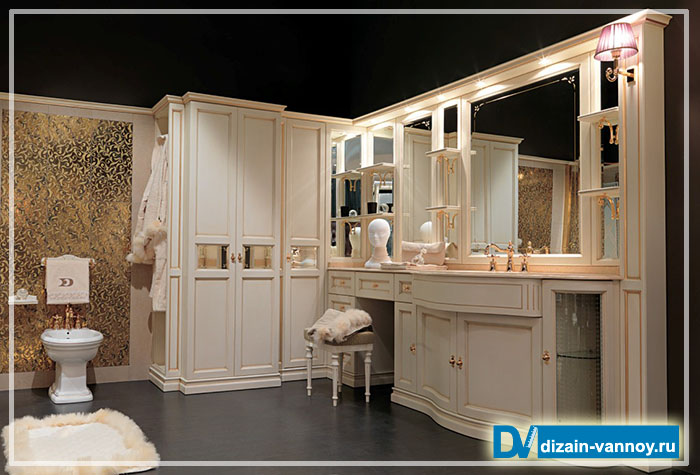 элитная мебель для ванных комнат