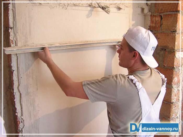 Ремонт стен своими руками видео фото