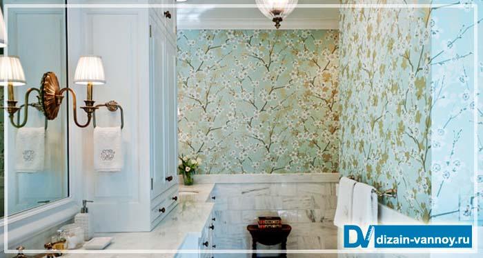 покрытие стен в ванной