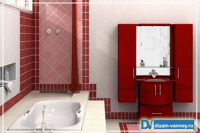 варианты расстановки мебели в ванной