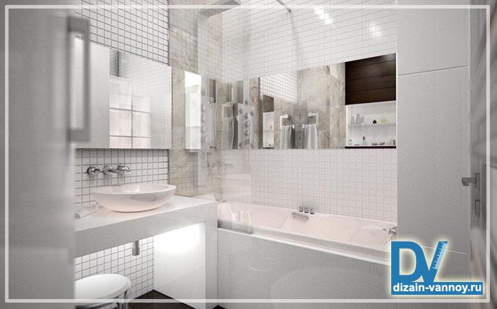 как разместить мебель в ванной