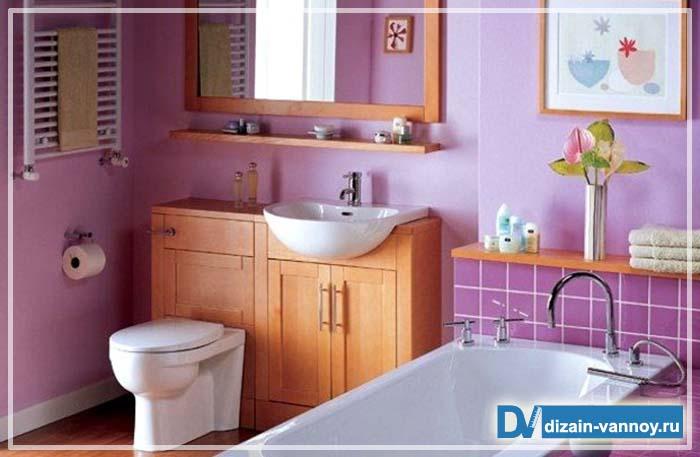 варианты отделки стен в ванной