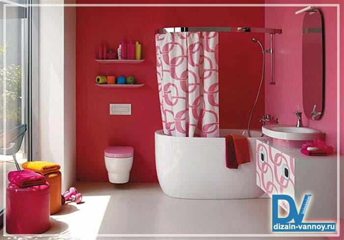 чем отделать стены ванной комнаты