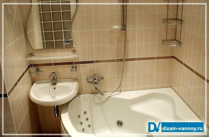 ванна в брежневке фото