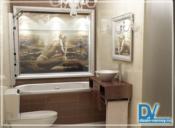 нестандартные ванные комнаты фото