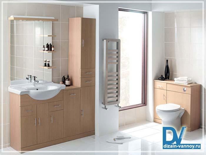 модульная мебель для ванной комнаты