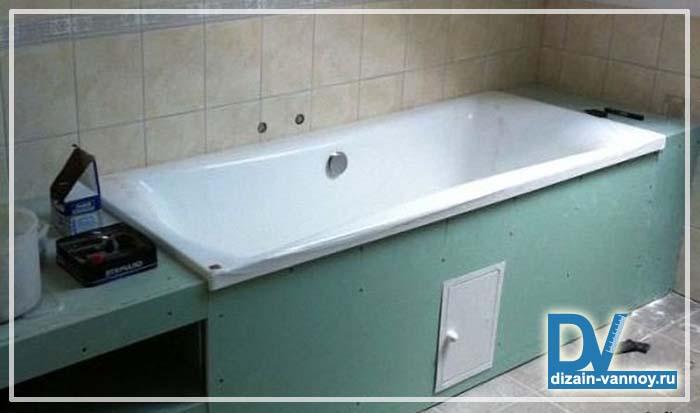 как закрыть счетчики в ванной