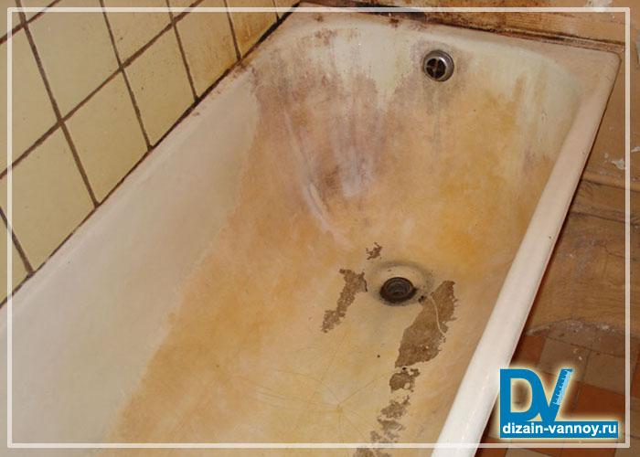 удаление известкового налета в ванной