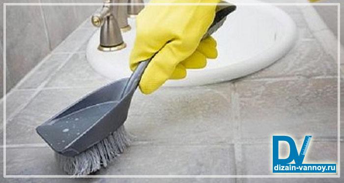 чем отмыть налет в ванной