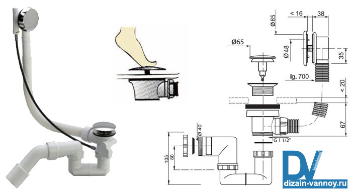 установка обвязки на ванну видео