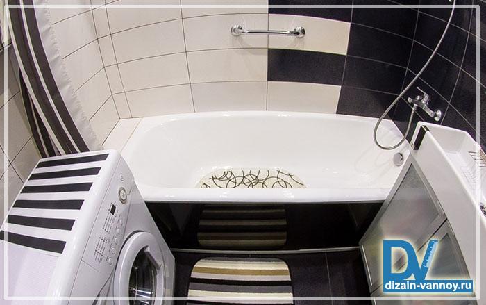ремонт ванной комнаты 137 серия