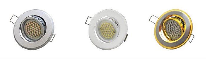 диодные светильники для ванной комнаты