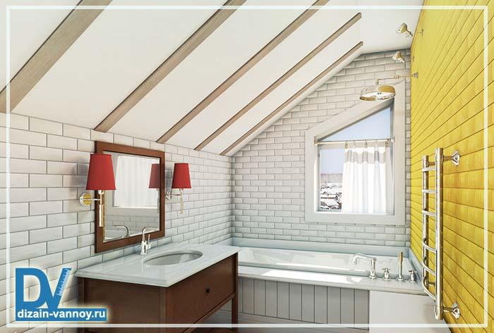 ванна в частном доме фото