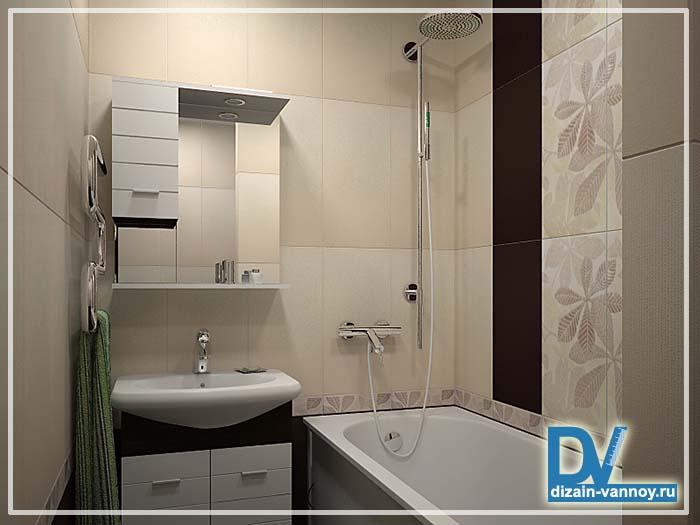 Дизайн ванн комнат в обычных квартирах