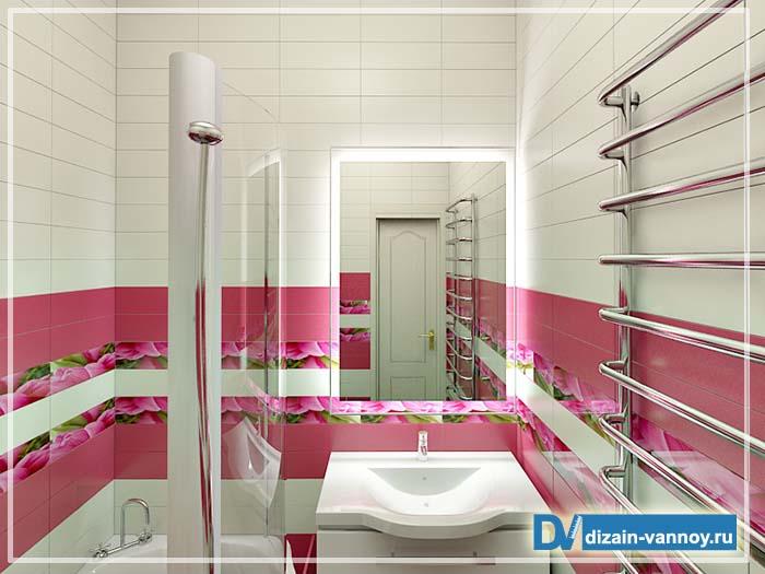 интерьер ванны хрущевка
