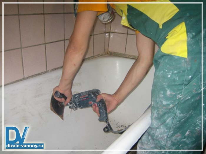покрытие ванны эмалью отзывы