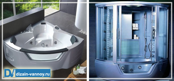 преимущества душевой кабины перед ванной