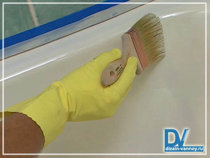 Как обновить ванну в домашних условиях