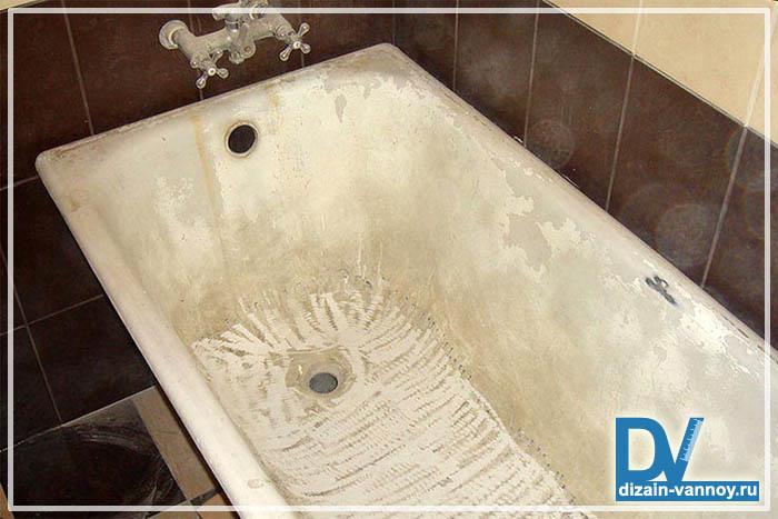восстановление ванны своими руками