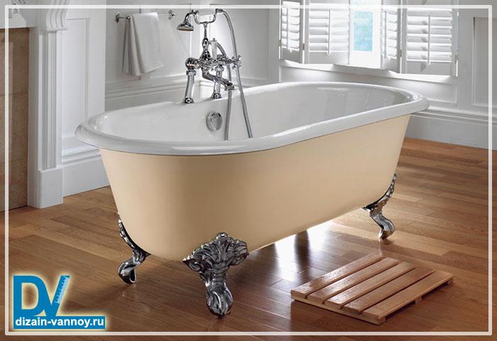 краска для чугунной ванны